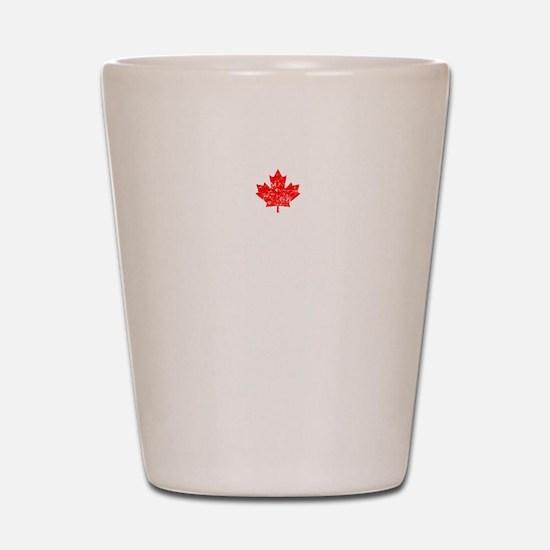 Canadian Thing -dark Shot Glass