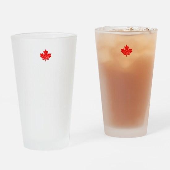 Canadian Thing -dark Drinking Glass