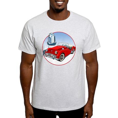 TR3-RED-C8trans Light T-Shirt