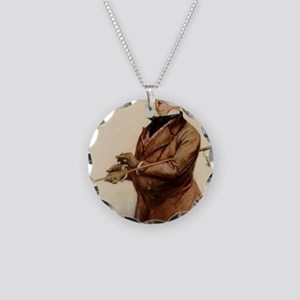 DICKENS COPPERFIELD micawber Necklace Circle Charm