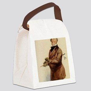 DICKENS COPPERFIELD micawber BY F Canvas Lunch Bag