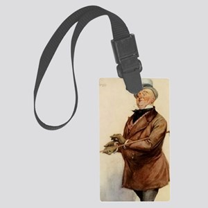 DICKENS COPPERFIELD micawber BY  Large Luggage Tag