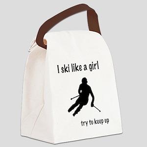 skichic Canvas Lunch Bag