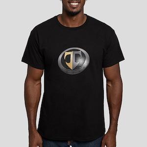 2-TuscaniLargeAngle Men's Fitted T-Shirt (dark)
