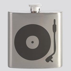 Vinyl Record Turntable Flask