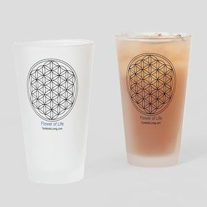 3-FlowerofLife Drinking Glass