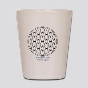 3-FlowerofLife Shot Glass