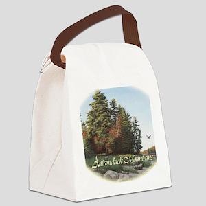 EveningFlight_cafefinal Canvas Lunch Bag
