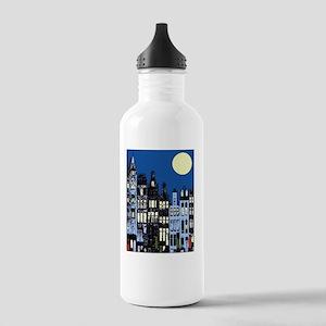 DelftBlueTownMoonb Stainless Water Bottle 1.0L