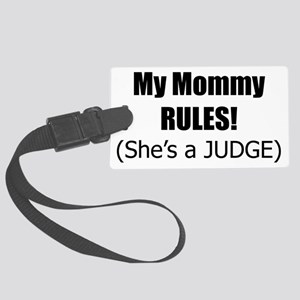 mommy_judge Large Luggage Tag