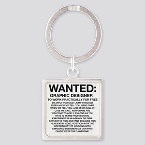 Wanted_Tee Square Keychain