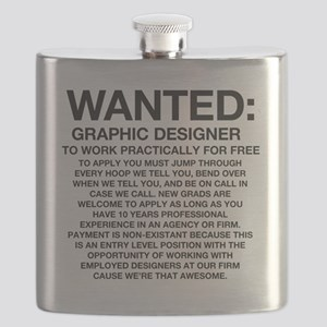 Wanted_Tee Flask