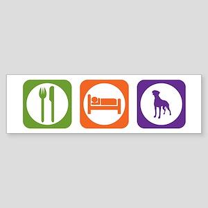 Eat Sleep Rhodesian Bumper Sticker