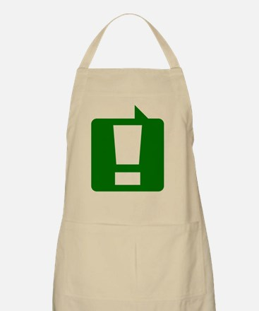 exclamation_gn_10x10 Apron