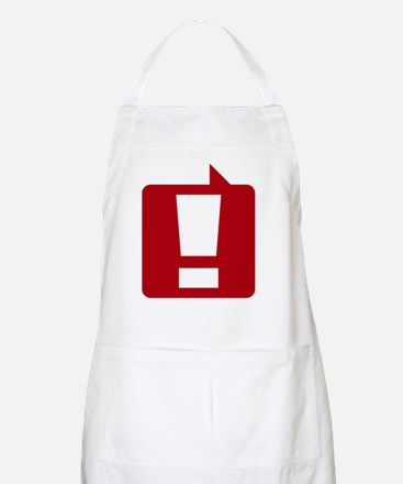 exclamation_rd_10x10 Apron