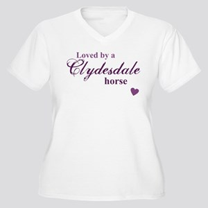 Clydesdale horse Plus Size T-Shirt