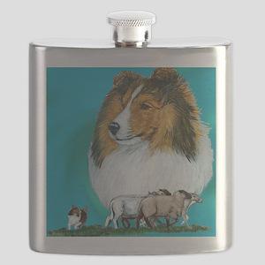 sable herding Flask
