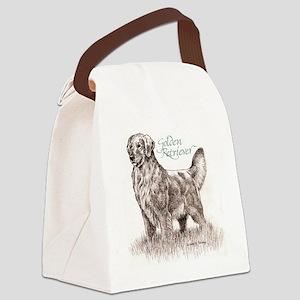 AdultGolden_cafefinal Canvas Lunch Bag