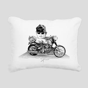 Then Came Bronson Rectangular Canvas Pillow