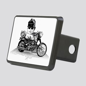 Then Came Bronson Rectangular Hitch Cover