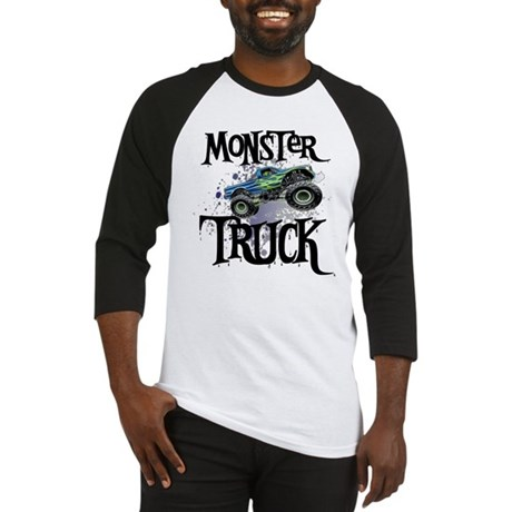 Monster_Truck_cp Baseball Jersey