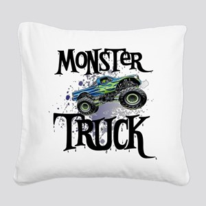 Monster_Truck_cp Square Canvas Pillow