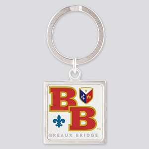 Cadien Breaux Bridge Monoram Square Keychain