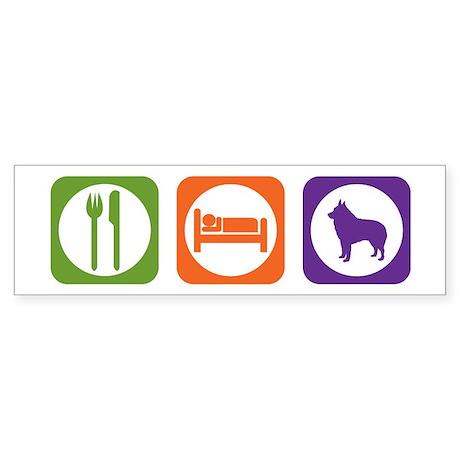 Eat Sleep Schipperke Bumper Sticker