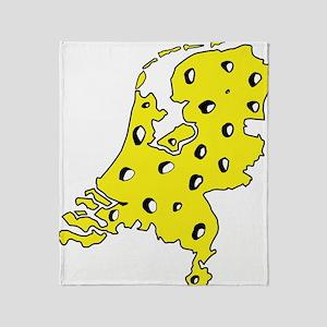 Mic2_NL_CHEESE Throw Blanket