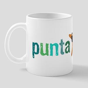PCStarfishGrnBlu_whtT Mug
