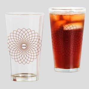 Flower2 Drinking Glass