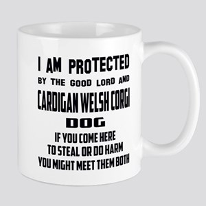I am protected by the good lord 11 oz Ceramic Mug