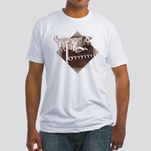 Bar_cafefinal Fitted T-Shirt