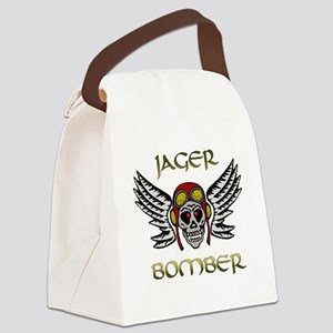 Bomber1 Canvas Lunch Bag