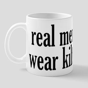 Real Men Wear Kilts Mug