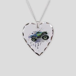 Monster_Truck_Light_cp Necklace Heart Charm