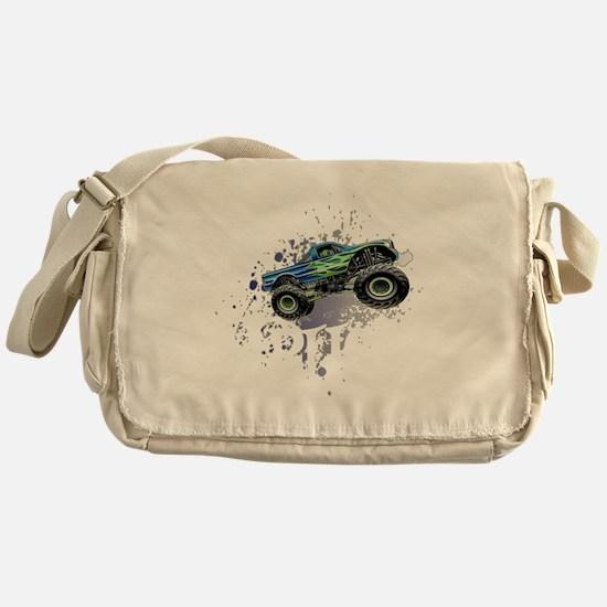 Monster_Truck_Light_cp Messenger Bag