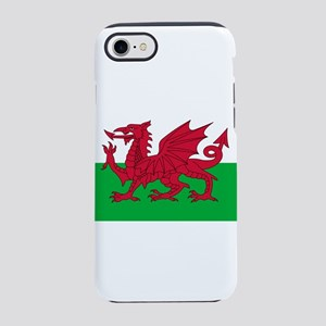 Welsh Flag of Wales iPhone 7 Tough Case