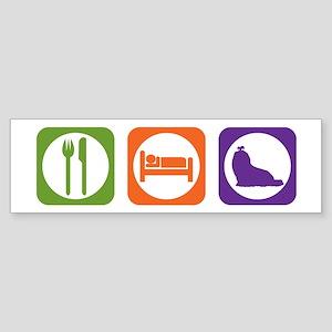 Eat Sleep Shih Tzu Bumper Sticker