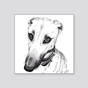 'Rufus' Lurcher with the beautiful eyes! Sticker