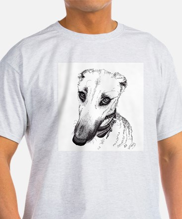 'Rufus' Lurcher with the beautiful eyes! T-Shirt