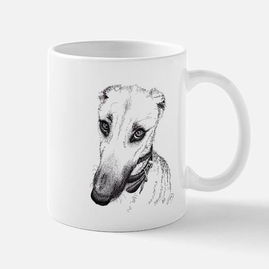 'Rufus' Lurcher with the beautiful eyes! Mugs