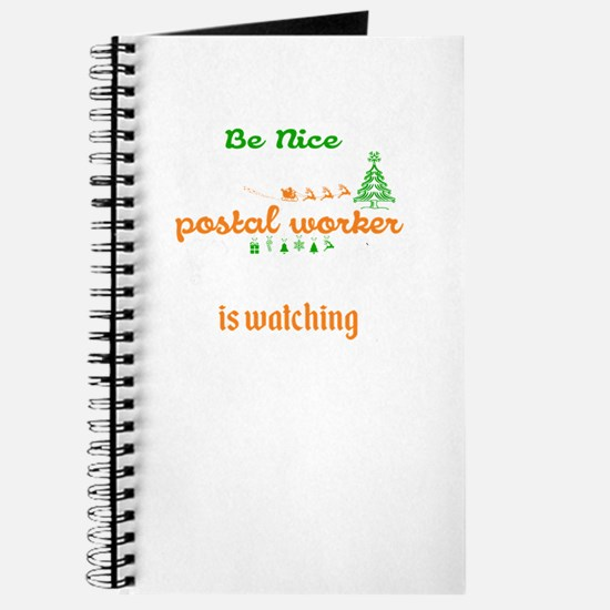 Be Nice To The Postal Worker Journal