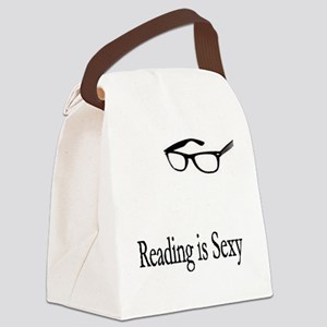 2-reading Canvas Lunch Bag