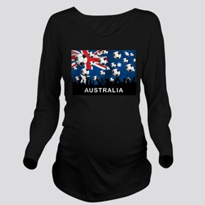 Australia World Cup Long Sleeve Maternity T-Shirt
