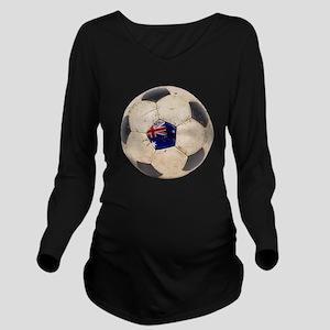 Australia Football Long Sleeve Maternity T-Shirt
