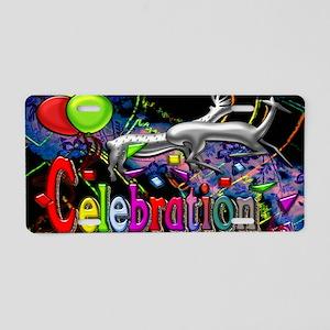 Celebration Digital Art lar Aluminum License Plate