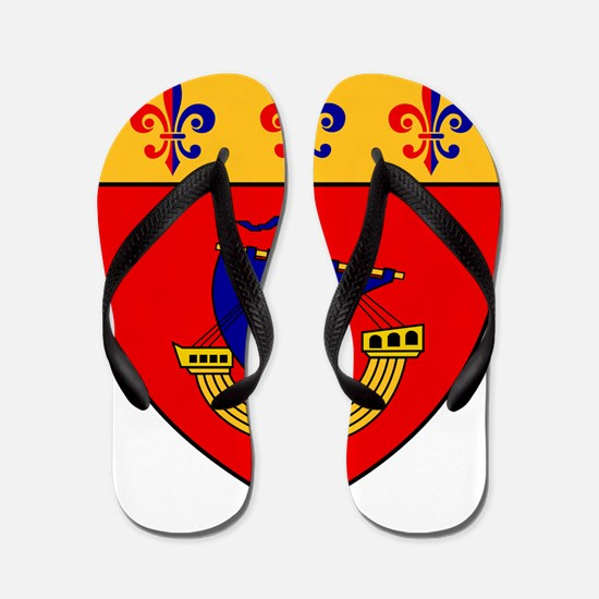 Vessel from the coat of arms Flip Flops