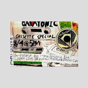 catatonic cassette tape show2 Rectangle Magnet