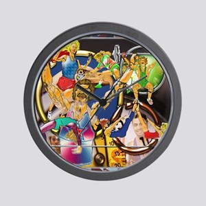 9-Competitive Sports Art and Photograph Wall Clock